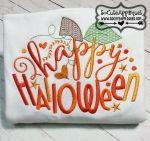Happy Halloween 5x7 6x10