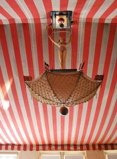 The circus room at the R.J. Reynolds Mansion on Sapelo Island, Georgia.
