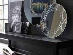 Make a statement with cool prints, slogan artwork & mirrors. Decorating Tools, Pattern Fashion, Slogan, Mirrors, Patterns, Cool Stuff, My Style, Modern, Prints