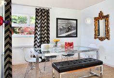 contemporary dining room by Vanessa De Vargas