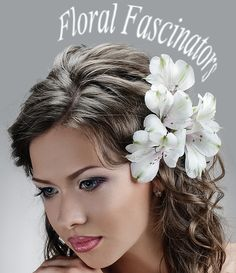 Flower Headpieces Fascinators For A Look Wedding Guest Hairstyles