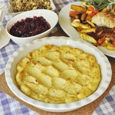 Roasted Garlic and Lemon Duchess Potatoes - another terrific side dish for your Thanksgiving feast