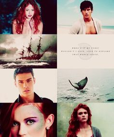 I would so watch this if they made a movie of The Little Mermaid with these people!!