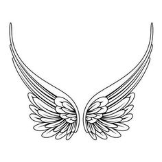 Tribal Angel Wings pictures and designs. Free high quality photographs, flash and image designs in our Tribal Angel Wings Gallery. Celtic Tattoos and Tribal Tattoos shown also. Angel Wings Clip Art, Angel Wings Drawing, Future Tattoos, New Tattoos, Body Art Tattoos, Tattoos Of Angels, Celtic Tattoos, Star Tattoos, Tattoo Femeninos