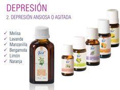 Depresión & Ansiedad & Aceites Esenciales JUST   +Felicidad +Bienestar