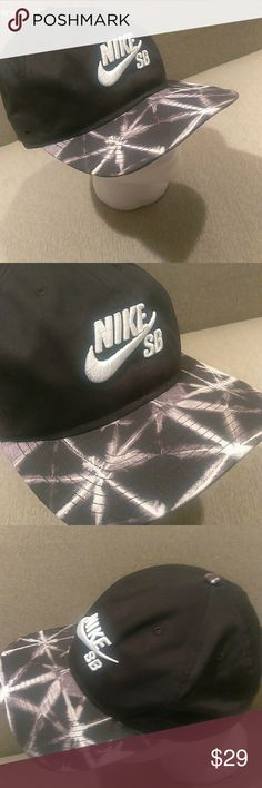 super popular 20ed9 1102f Nike SB cap barbwire image Nike SB cap with proprietary technology and  barbwire image, adjustable