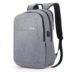 e150d451e250 New SOCKO Laptop Backpack w  USB Charging Port
