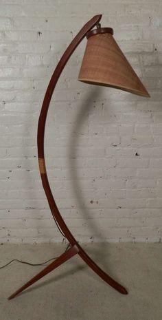 Brass Mid Century Danish Modern Arco Ball Floor Lamp   Flos Arch ...