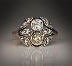 Antique Belle Epoque Diamond Diadem Engagement by RomanovRussiacom