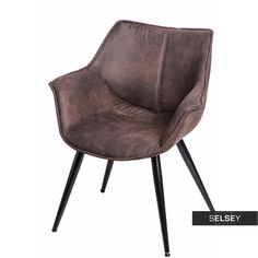 Krzesło Lord brązowe ciemne Sit Back And Relax, Yule, Mercury, Modern, Accent Chairs, Living Room, Furniture, Design, Home Decor