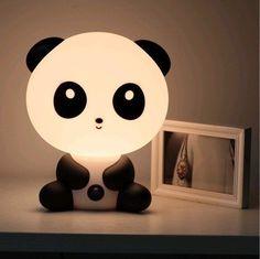 Panda Night Light | 41 Coolest Night Lights To Buy Or DIY