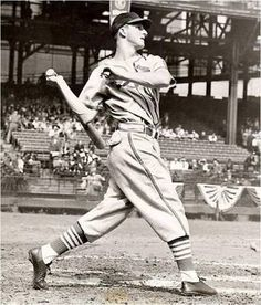 Stan Musial sets record for consecutive NL games played of 823, June 12th.