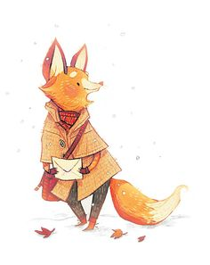 Foxby by znuese - Greeting Card $2.30