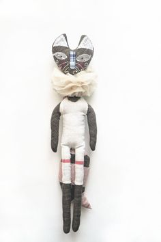 Handmade doll. The Fox