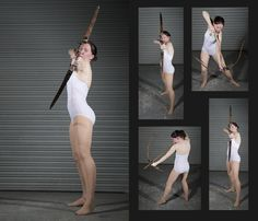 Female Archer Pack 1 - Pose Reference by *SenshiStock on deviantART