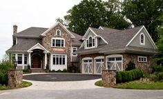 Home Exterior. Home Exterior Color Scheme. Home Exterior Color Scheme Ideas. #HomeExteriorColorScheme  Riley Custom Homes & Renovations.