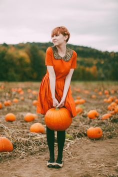 The Clothes Horse: Pumpkin Picking
