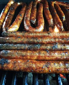#bbq #sausage #pork #pork #lowcarb #lunch #dinner #Barbecue #grill #charcoal #friendsdontletfriendsgrillwithgas #cooking #foodstagram #foodpornshare #lowcarb #paleo #glutenfree #foodphotography #castirongrill #dididibah #meatporn #bbqporn #italiansausage #cajunsausage #links #hotlinks by jimmorano
