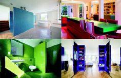 Una casa especialmente colorida en Londres: Chevron House. #ImpactoPositivo  #DaisyCeara #Piensa #Positivamente #Frases #Positivo #Hermosas #Optimismo #Motivacion #Agradecimiento #Sueños #Felicidad #Amor #Retos