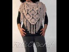 Crochet Pineapple Stitch Shawl (pt2)
