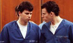 Aug 20, 1989:  The Menendez brothers murder their parents   http://2.bp.blogspot.com/-ULXNZcTn4dQ/UAID4k_cGnI/AAAAAAAAABw/n_1UacKy-oE/s1600/lyleanderikphoto.jpg