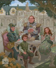 House Tyrell – Game of Trones – winter is coming Arte Game Of Thrones, Game Of Thrones Artwork, Game Of Thrones Fans, Winter Is Here, Winter Is Coming, Margaery Tyrell, Daenerys Targaryen, Manga Comics, Tyrell Family