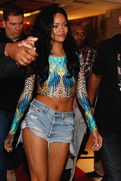 Rihanna back at her hotel in Rio De Janeiro, Brazil. (12th July)