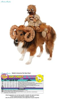 Costumes 52352: Star Wars Bantha Costume For Pets -> BUY IT NOW ONLY: $31.65 on eBay!