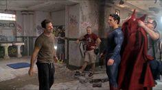 Foto dos bastidores de Batman Vs Superman!! #Superman #JusticeLeague #AlwaysHenryCavillBrasil (By Clay Enos)