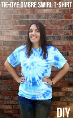 punk projects: Ombre Swirl Tshirt DIY with ILTC Tulip One-Step Tie-Dye