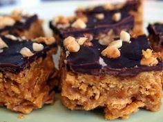 Happy Go Marni: Stovetop Crispy Corn Flake Chocolate Peanut Butter Bars