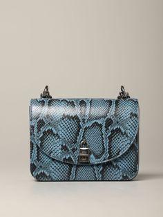 REBECCA MINKOFF REBECCA MINKOFF. #rebeccaminkoff #bags #shoulder bags Blue Shoulder Bags, Python Print, World Of Fashion, Luxury Branding, Rebecca Minkoff, Crossbody Bags, Bag Accessories, Leather, Closet