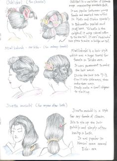 I M Sick Of Seeing Pieces Related To Nihongami The Anese Traditional Hair Style Such