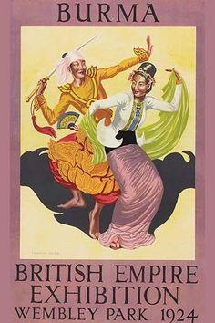 British Empire Exhibition - Burmese Dance