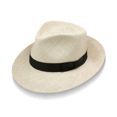 10b2c17fad2b82 Stetson Retro Panama Hat | DelMonico Hatter $58.95 Stetson Hats, Grosgrain,  Panama Hat,