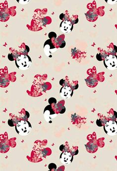This Minnie Mouse design is so pretty.