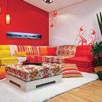 Decoración de Salas en Color Rojo. Si gusta del color rojo y deseas utilizar este hermoso color en la decoración interior de tu hogar, estos consejos de decoración de salas en color rojo son