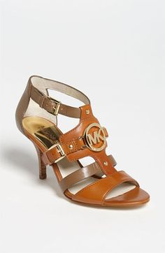 Just got these and love them!!    MICHAEL Michael Kors Rustin Sandal available at #Nordstrom