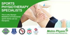 Do You Need A Sports Physiotherapist? Metro Physio www.metrophysio.co.uk
