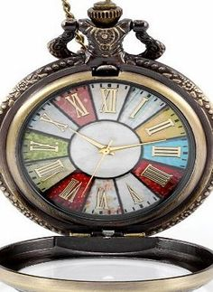 JewelryWe Retro Style Wheel Rome Pocket Watch Vintage Steampunk Pocket Watch Pendant Long Necklace 30`` (with  No description http://www.comparestoreprices.co.uk/december-2016-week-1-b/jewelrywe-retro-style-wheel-rome-pocket-watch-vintage-steampunk-pocket