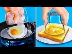 CRAZY KITCHEN IDEAS Watch this video and find easy and delicious recipes: - Bake avocados with eggs. It's an easy recipe but also a healthy breakfast to star. Avocado Egg Bake, Baked Avocado, Egg Hacks, Food Hacks, Brie, Egg Recipes, Baking Recipes, Mini Omelettes, Egg Rolls Baked