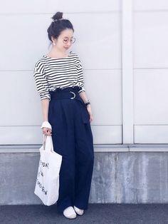 今日は急ぎで GUのベルト付きギャザーパンツ、可愛いくてカーキと2色買いしてしまいました(^ ^