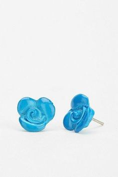 Diament Jewelry For Urban Renewal Enamel Flower Stud Earring #urbanoutfitters