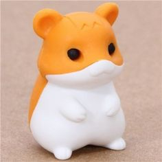 A Jar of Cat Pencil Top Rubbers Lucky Cat Erasers