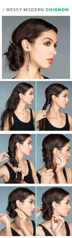 6 Party Hairstyles Nobody Can Ignore (Step by Step) - Fashion Array Holiday Hairstyles, Party Hairstyles, Hairstyles Haircuts, Cool Hairstyles, Homecoming Hairstyles, Wedding Hairstyles, Medium Hair Styles, Curly Hair Styles, Women Haircuts Long