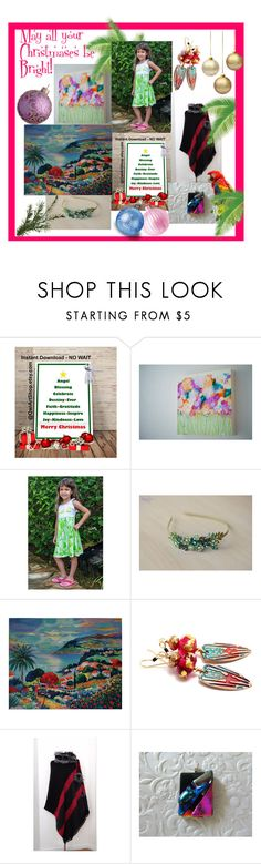 """""""May all your Christmases be Bright"""" by imaginebaby ❤ liked on Polyvore"""