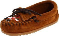 Amazon.com: Minnetonka Beaded Kilty Moccasin (Toddler/Little Kid/Big Kid): Shoes