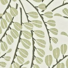 """HARLEQUIN EMBROIDERED FABRIC REMNANT """"ANAIS"""" 118 X 145 CM COTTON BLEND #Harlequin"""
