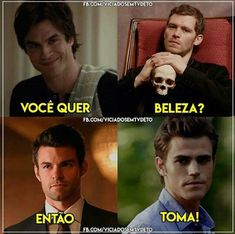 Brothers Mikaelson e Brothers Salvatore Stefan Salvatore, Klaus Tvd, Delena, The Vampires Diaries, Hello Brother, Memes Status, Original Vampire, Comedy Memes, Best Series