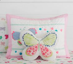 Lucy Butterfly Quilted Bedding